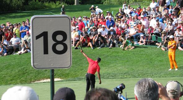 Tiger Woods wins 2012 Memorial Tournament
