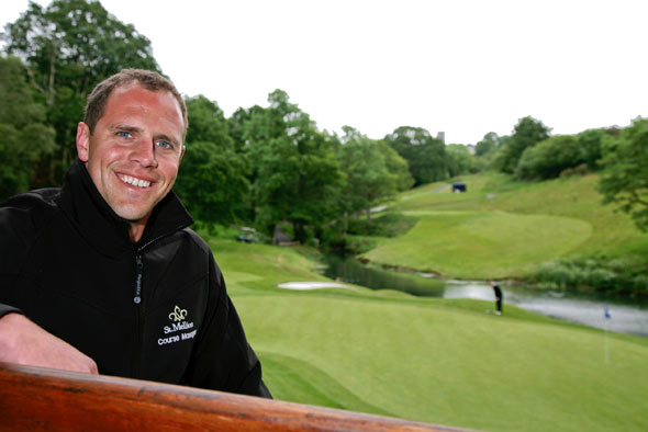 "St Mellion's Mike Bush awarded elite status of ""Master Greenkeeper"""