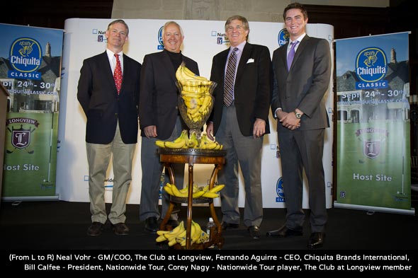 PGA TOUR and Chiquita Announce Nationwide Tour Event To Be Played at The Club at Longview in Greater Charlotte, N.C.