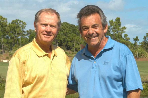 Jack Nicklaus and Tony Jacklin