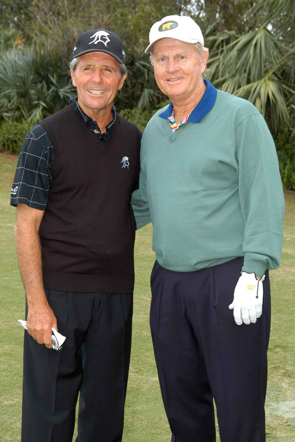 Gary Palmer and Jack Nicklaus, two Legends of Golf