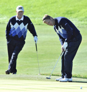 Jack Nicklaus and his son Jack II