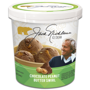 Jack Nicklaus Peanut Butter Ice Cream