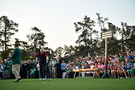 2015 Masters Honorary Starters
