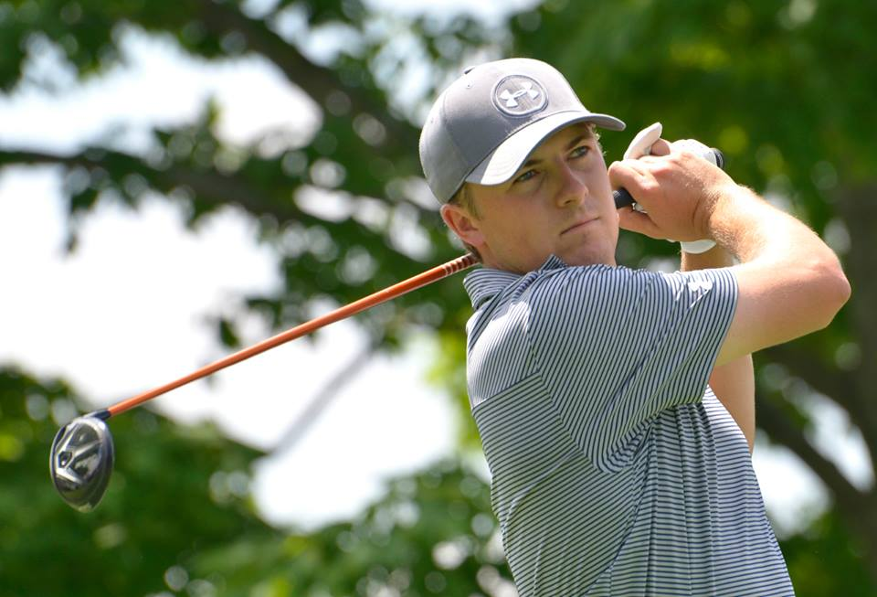 World No. 1 Jordan Spieth at the 2015 Memorial Tournament presented by Nationwide.