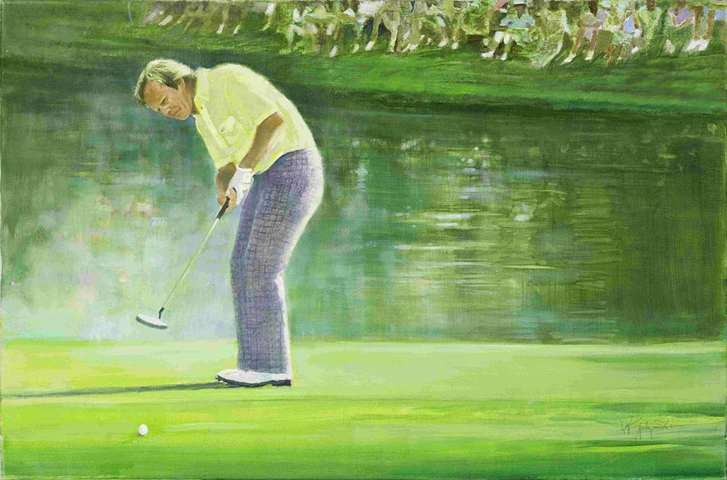Jack Nicklaus, 1986 Masters, Walt Spitzmiller