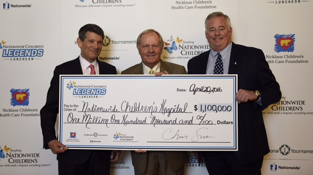 Dr. Steve Allen, Jack Nicklaus, Steve Rasmussen, Nationwide, Nationwide Children's Hospital, Nicklaus Children's Health Care Foundation