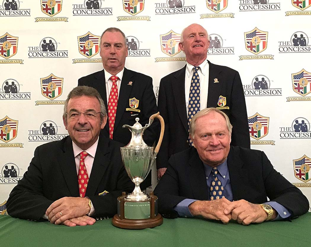 Concession Cup, Jack Nicklaus, Tony Jacklin