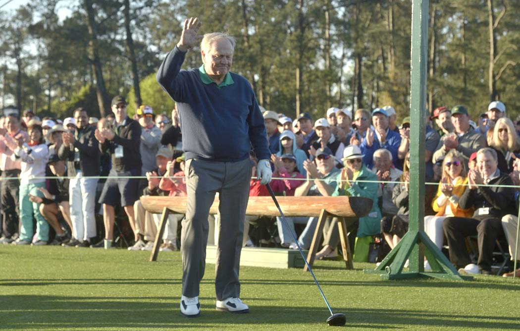 Jack Nicklaus, Masters Tournament, golf