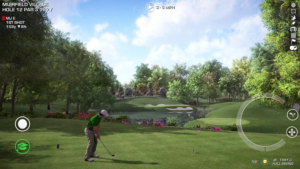 Muirfield 12 golfer 3