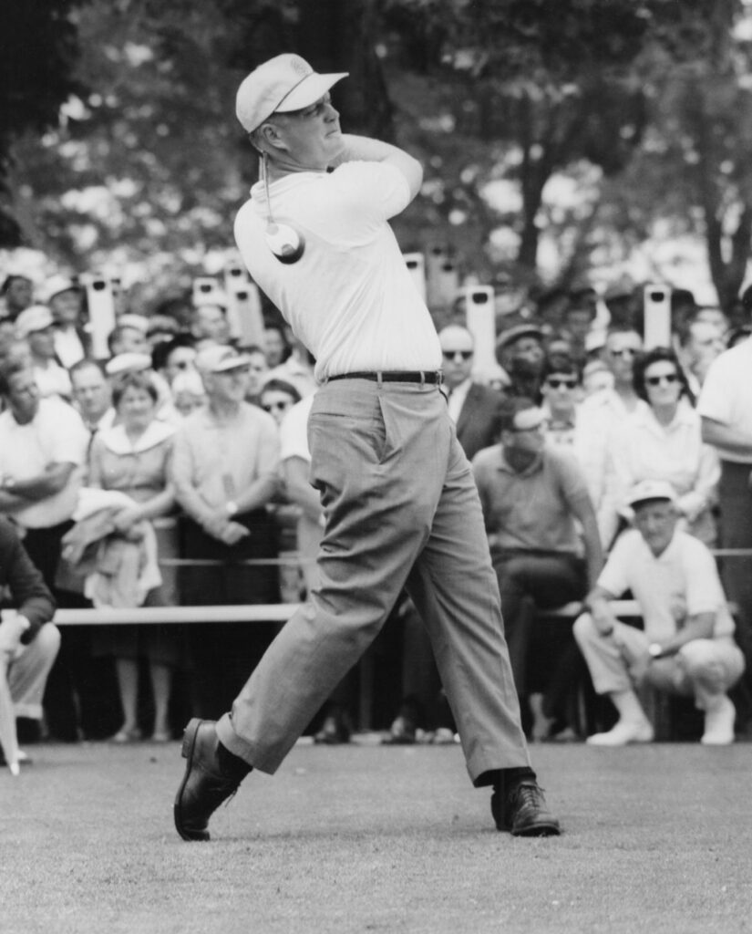 1962 US Open First Drive (Bill Foley-Jack Nicklaus Museum)