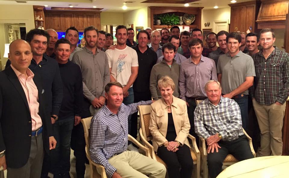 Jack Nicklaus, Barbara Nicklaus, Ryder Cup