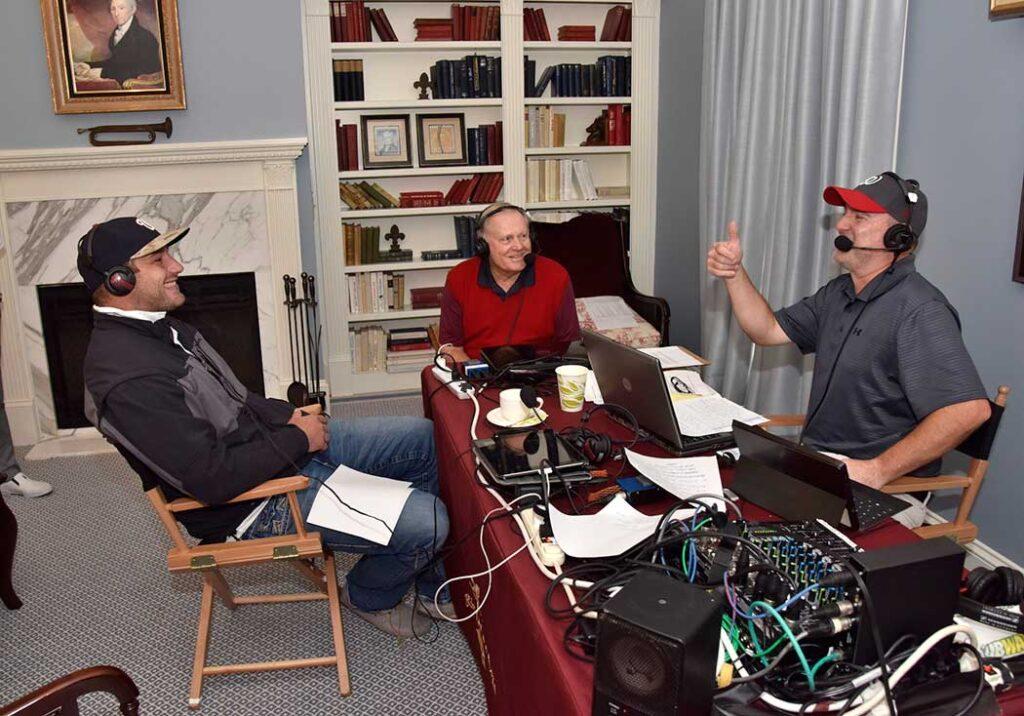 Jack Nicklaus, Chris Cooley, Kevin Sheehan, ESPN Radio
