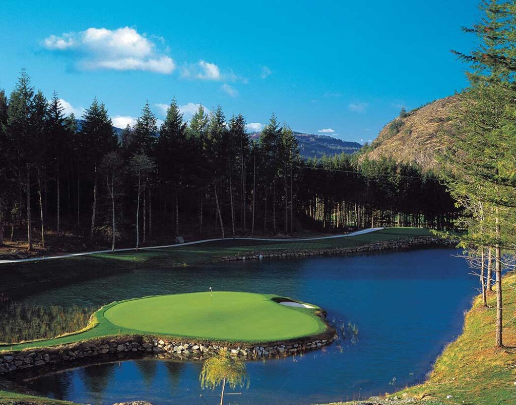 Jack Nicklaus, Bear Mountain Golf Resort, Mountain Course