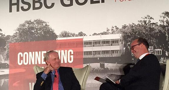 Jack Nicklaus, HSBC Golf Business Forum, Giles Morgan