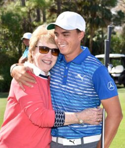 Ricky Fowler and Barbara