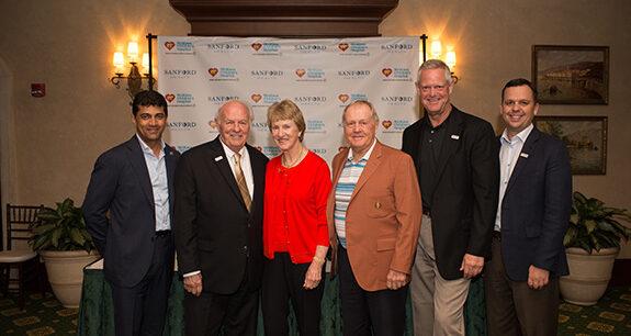 Jack Nicklaus, Barbara Nicklaus, Nicklaus Children's Health, Sanford Health