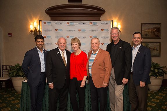 Jack Nicklaus, Barbara Nicklaus, Nicklaus Children's Health, Sanford Health