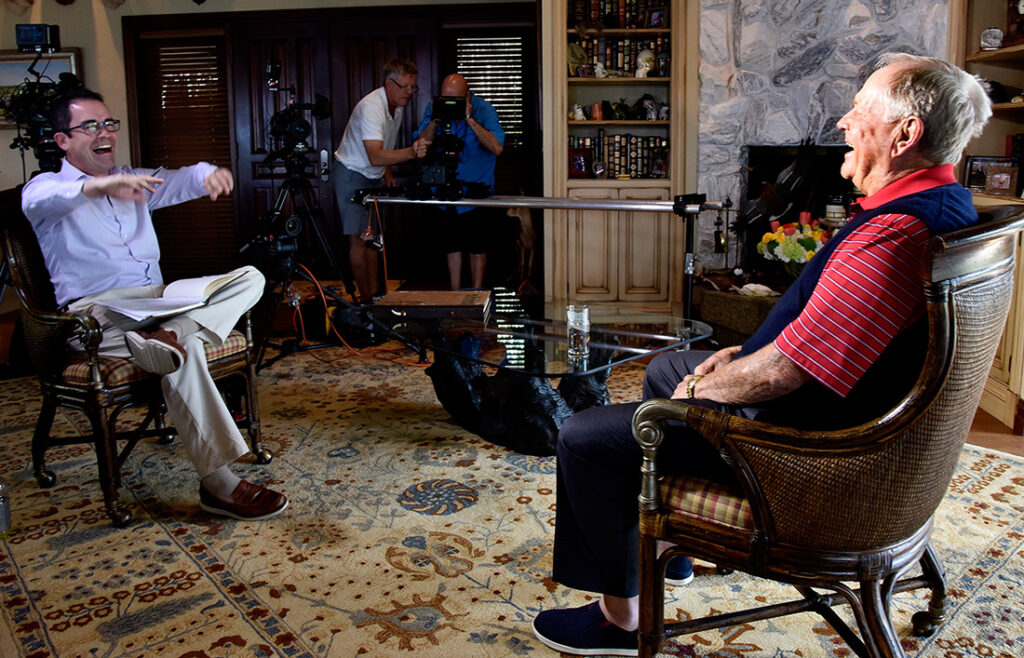 JACK, the three-part film on golfing legend Jack Nicklaus