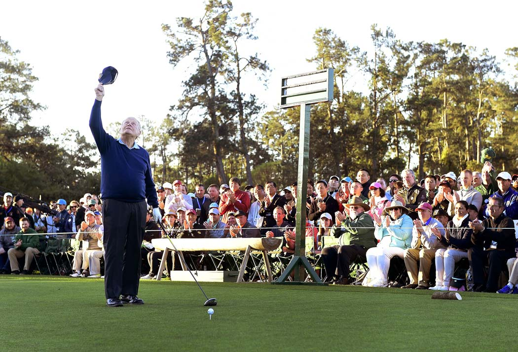Jack Nicklaus, the Masters