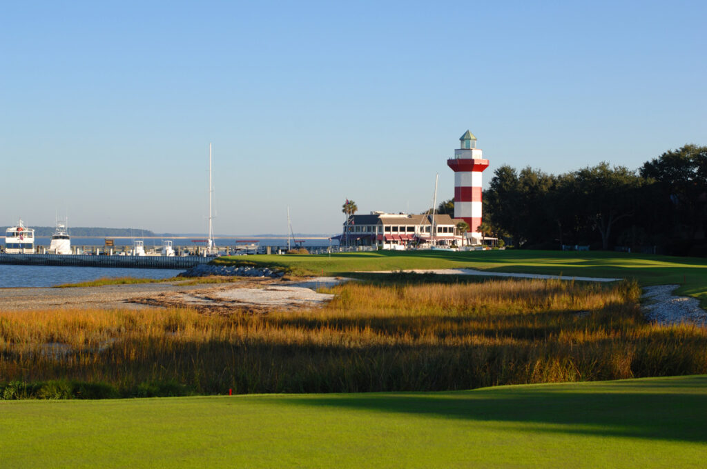 18th Green of Harbour Town Golf Links Resort