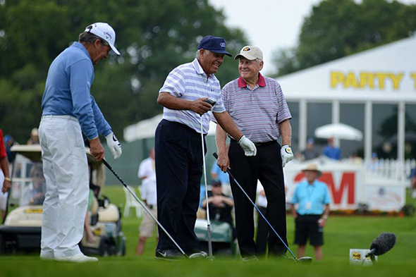Jack Nicklaus, Gary Player, Lee Trevino, Insperity Invitational's Greats of Golf