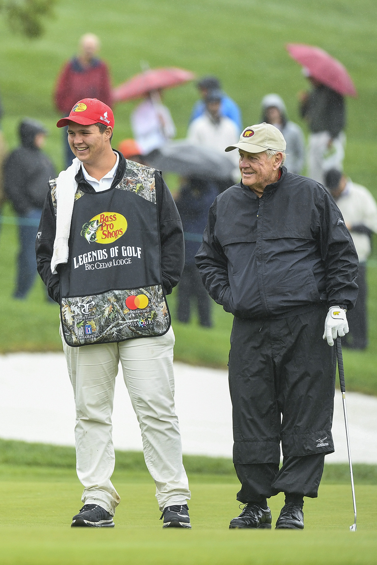 jack nicklaus will partner with grandson  gt  for first