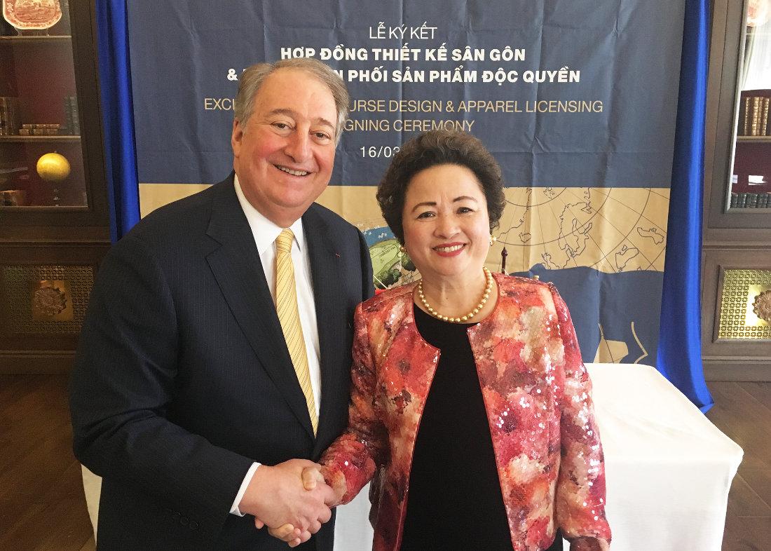 Nicklaus Executive Chairman Howard Milstein and BRG Group Chairman Nga