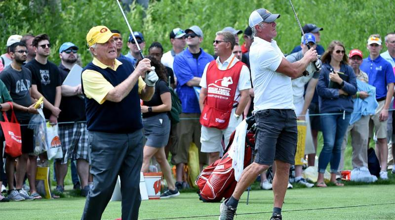 Brett Favre on Golfing with Jack Nicklaus