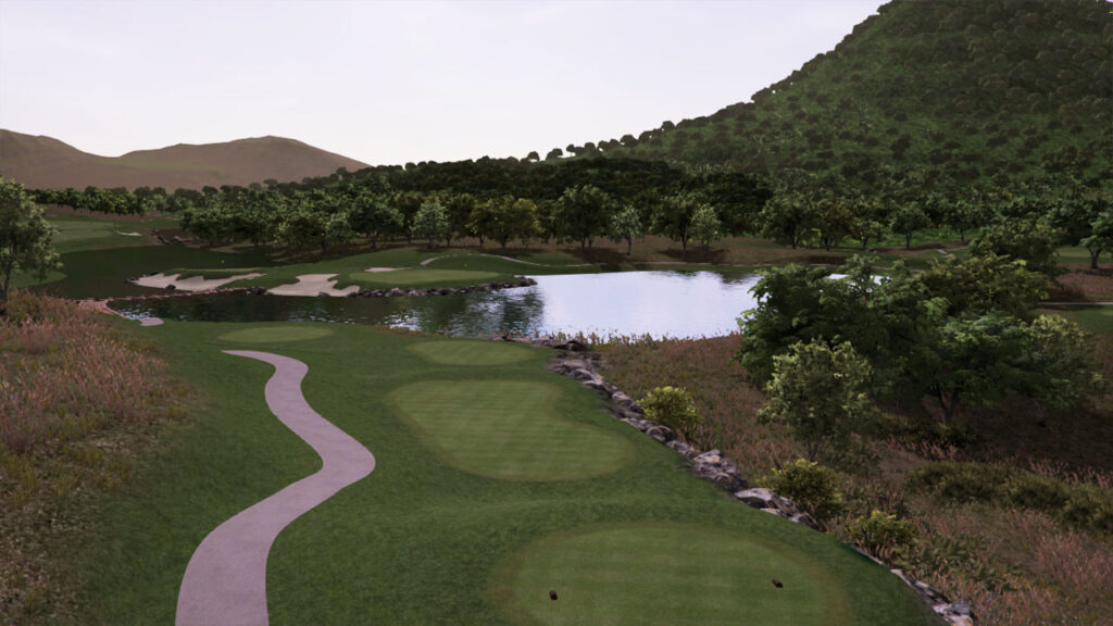 Nicklaus course design software