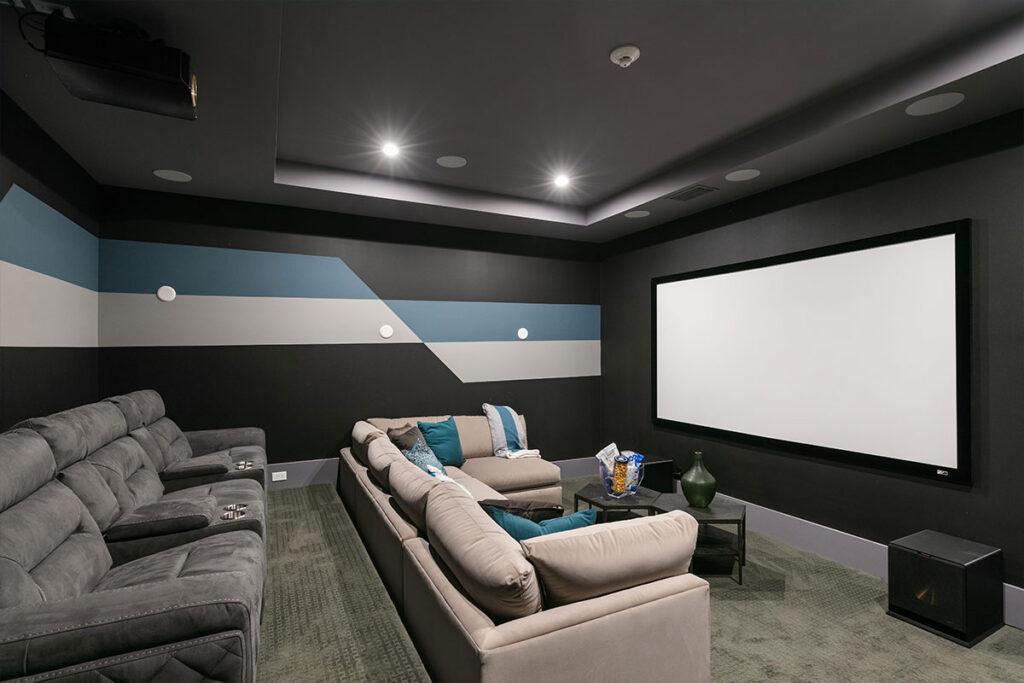 Bears Den Reunion Movie Room