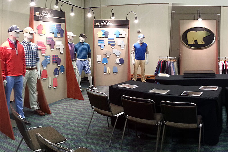 Perry Ellis International will debut its first-ever Jack Nicklaus Apparel collection today through Friday at the PGA Merchandise Show