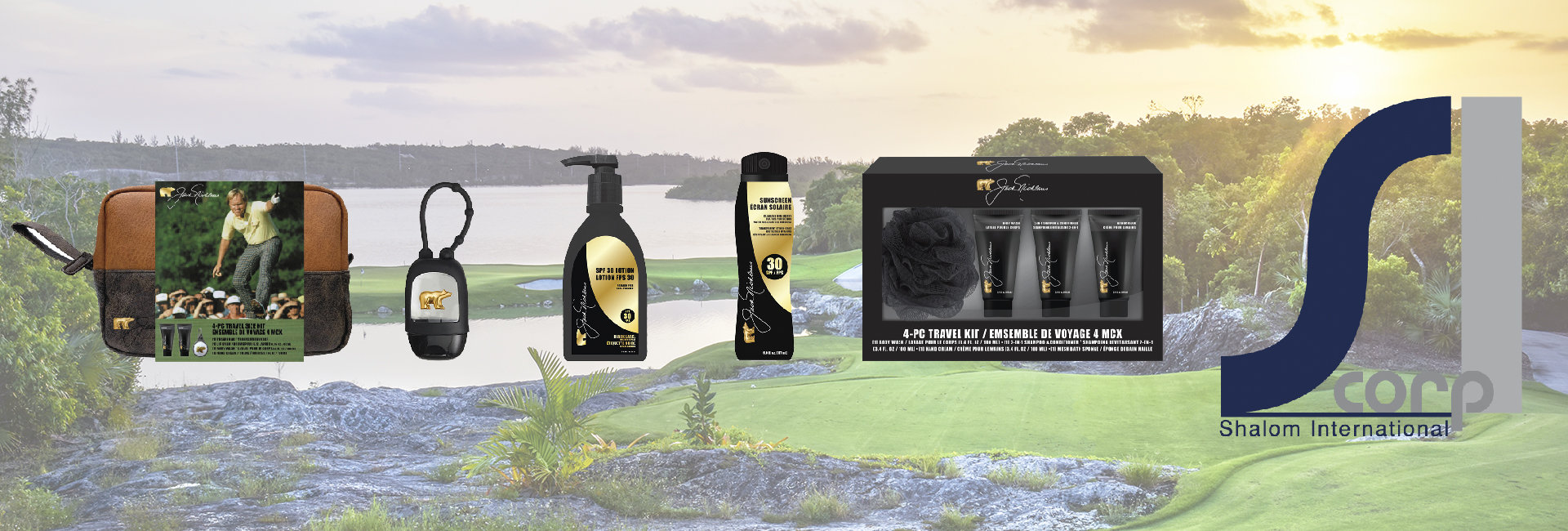 Shalom International and Nicklaus joined forces in January of 2019 to bring the Jack Nicklaus Grooming collection to life.