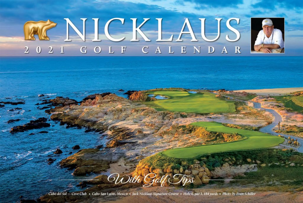 2021 Nicklaus Golf Calendar Available