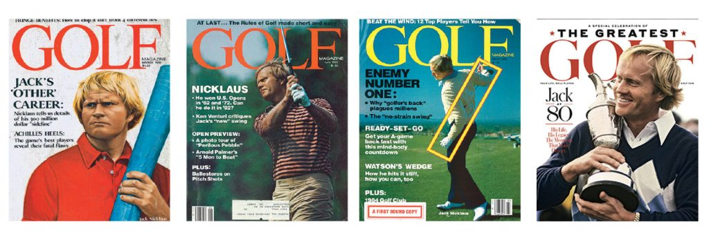Jack Nicklaus Joins GOLF Magazine as Contributing Editor