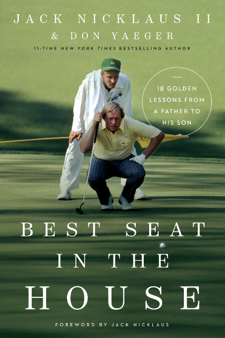 Best seat in the house - Jack Nicklaus