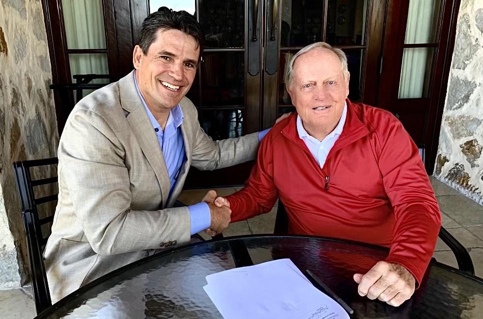 Jack Nicklaus & Generational Group CEO Ryan Binkley